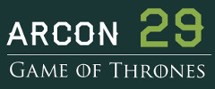 Arcon 29 - 2013<br>Tema: Game of Thrones